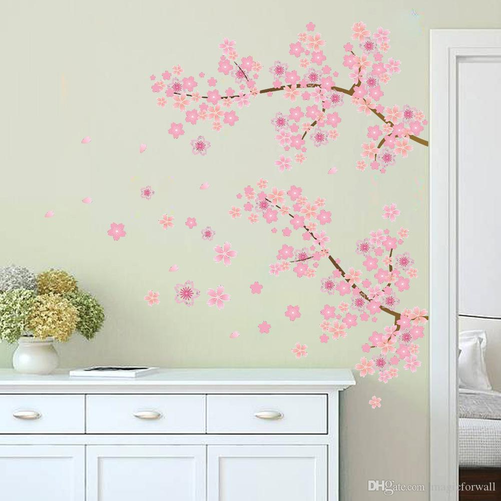 Use The Wall Stickers Properly Can Bring Big Changes To Your House. Flower  And Grass Tinkerbell Wall Stickers For The Spring, Blue And Yellow Train  Wall ...