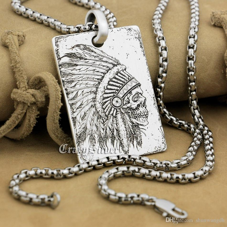 INDIA 925 sterling silver customizable necklace