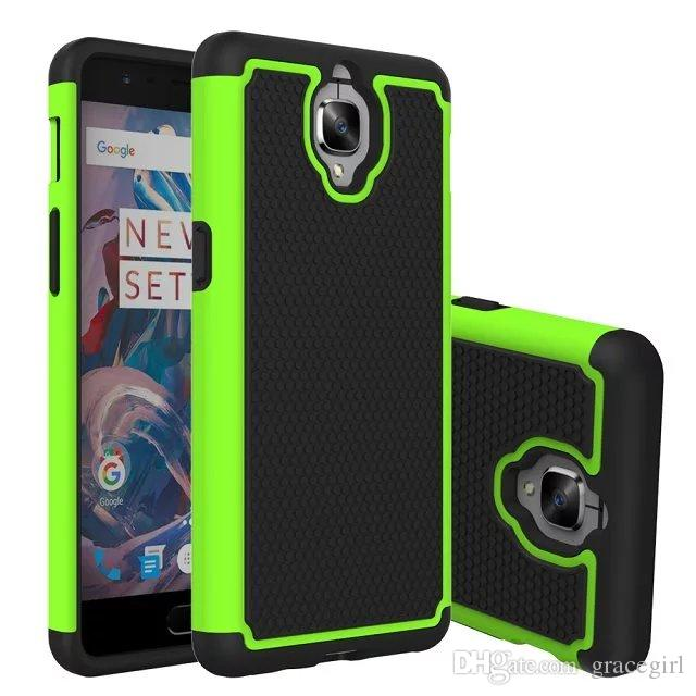 buy popular 9e55e 6dc9f Cheap New Armor Hybrid Hard Pc Silicone Case Football Rugged Ballisitc  Shockproof Dot Defender Camo For One Plus Oneplus 3 Skin Cell Phone  Fashion, ...