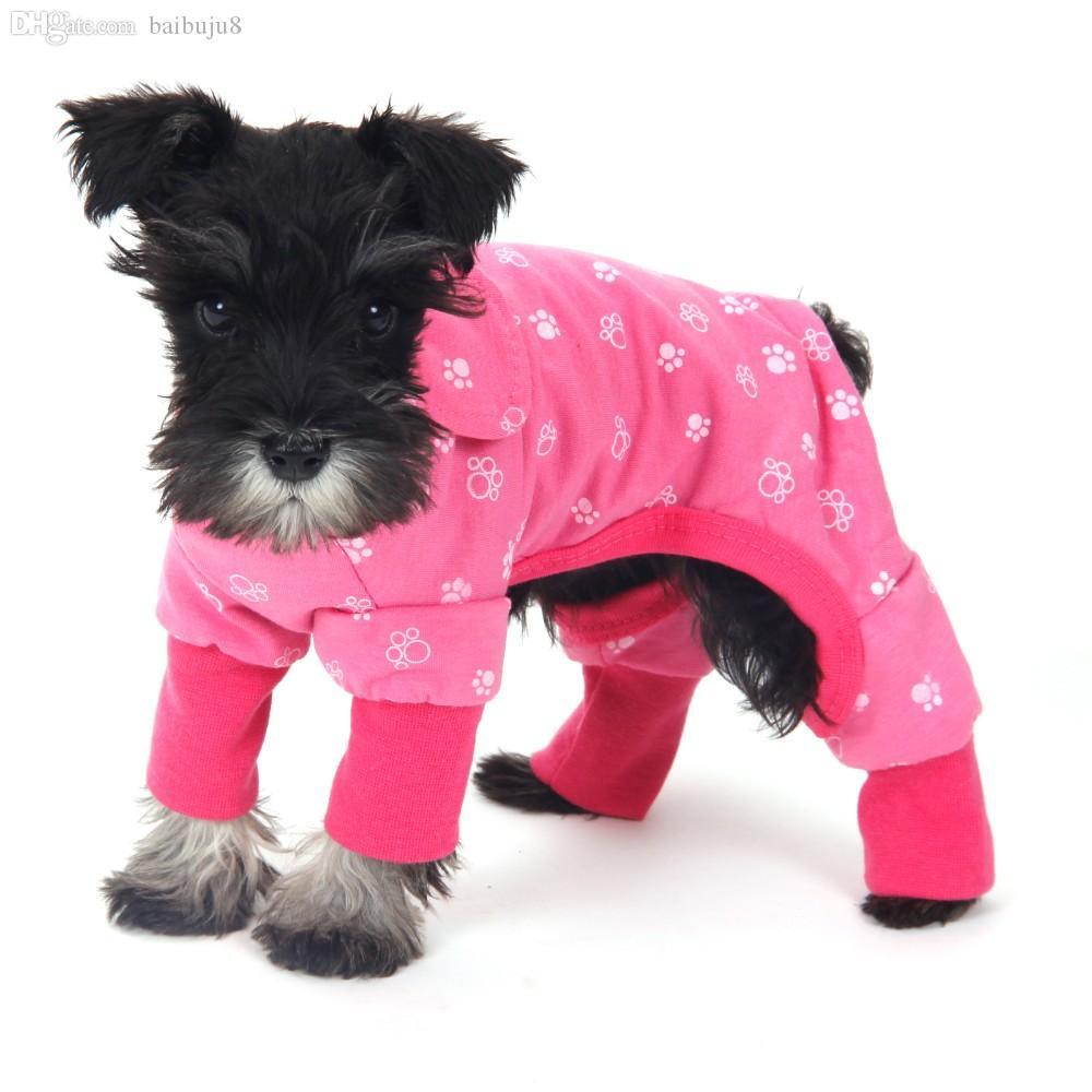 الجملة-بالجملة رخيصة! الكلب حللا الملابس للكلاب تشيهواهوا يوركشاير كلب صغير الملابس منامة جرو القط الملابس منتجات الحيوانات الأليفة