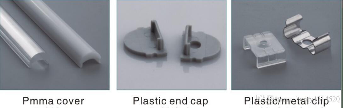 Vendita calda di trasporto libero 2 m / pz 50 pz / lotto 2000 mm x 17 mm x 13 mm estrusione di alluminio profilo in alluminio per luce di striscia led decorazione interna