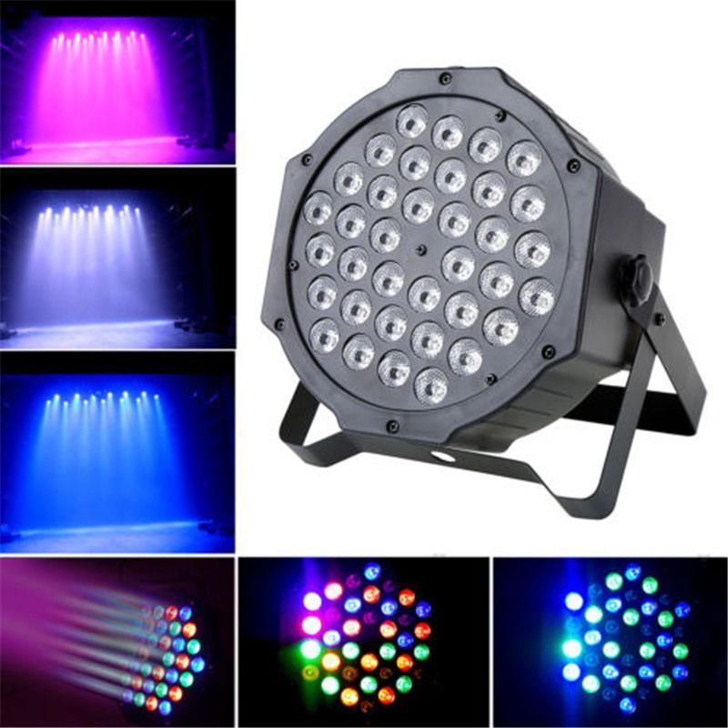 Vendita calda LED Crystal Magic Ball Par 36 RGB LED Effetto luce da palco Discoteca DJ Bar Effetto UP Lighting Show DMX Strobe per Party KTV