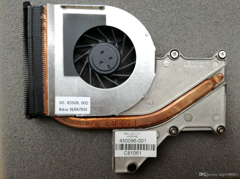 HP 컴팩 V3000 V3700 용 새 냉각기 DV2000 인텔 CPU 냉각 팬 450096-001 497968-001 60.4S508.002