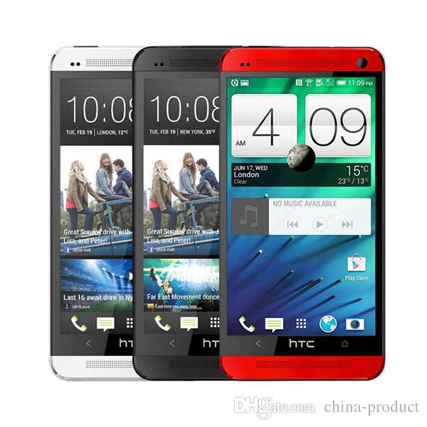 """Telefone original 4.7 """"htc one m7 quad core 4g lte wifi gps 2 gb ram 32 gb de armazenamento android smartphone desbloqueado"""