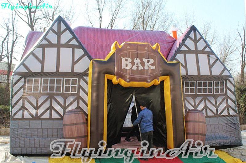 Cabina gonfiabile gonfiabile all'aperto del pub gonfiabile gonfiabile all'aperto della barra dell'Ogival bar antico 8m