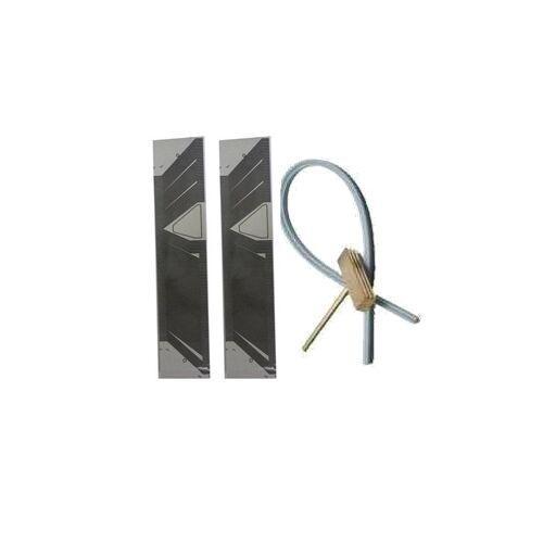 Fcarobd SAAB Lcd Repair 누락 된 픽셀 리본 SID1 플랫 케이블 (saab 9-3 9-5 모델) 2pc + 납땜 t- 헤드 고무 케이블 1pc