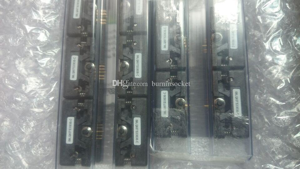 Plastronics IC TEST SOCKET 08LQ65TS33030 QFN8PIN 0.65mm zift 3x3mm YANIK SOKET.