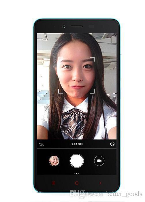 Original Xiaomi redmi Nota 2 4G LTE Celular 2GB RAM 16GB ROM Octa Núcleo Helio X10 Android 5.5 polegadas IPS 13.0MP Smart Mobile Telefone