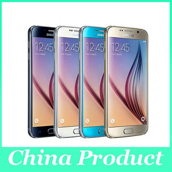 """Refurbished Samsung Galaxy S6 Unlocked 4G GSM Android Mobile Phone G920P Sprint Octa Core 5.1"""" 16MP RAM 3GB ROM 32GB Dropshipping"""