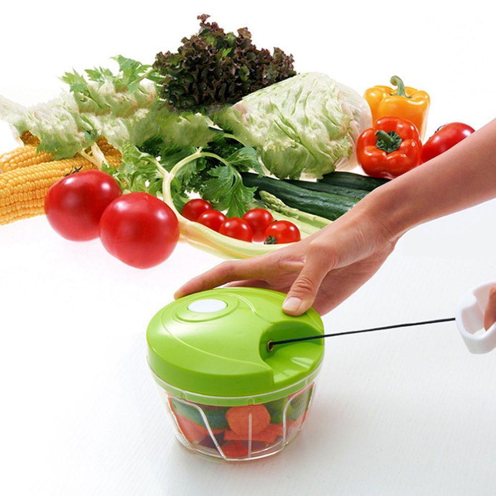 Multifunktions Manuelle Gemüseschredder Lebensmittel Cutter Obstschneider Hand High Speedy Chopper Manuelle Fleischwolf Küchenwerkzeug