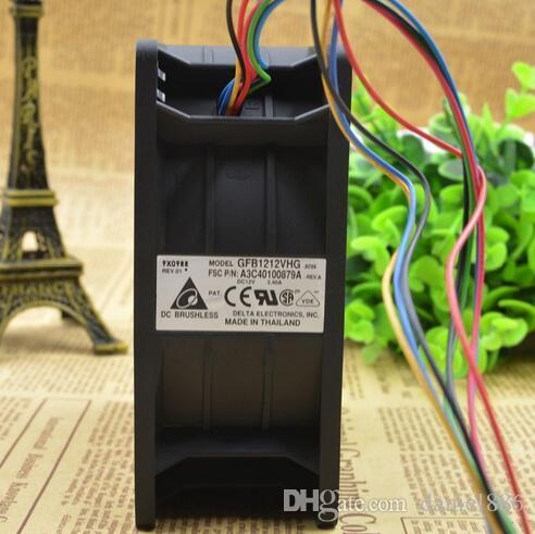 Delta 12CM 12V 3.40A 120 * 120 * 50mm GFB1212VHG FTS: A3C40100879A 8 Linie Ventilator