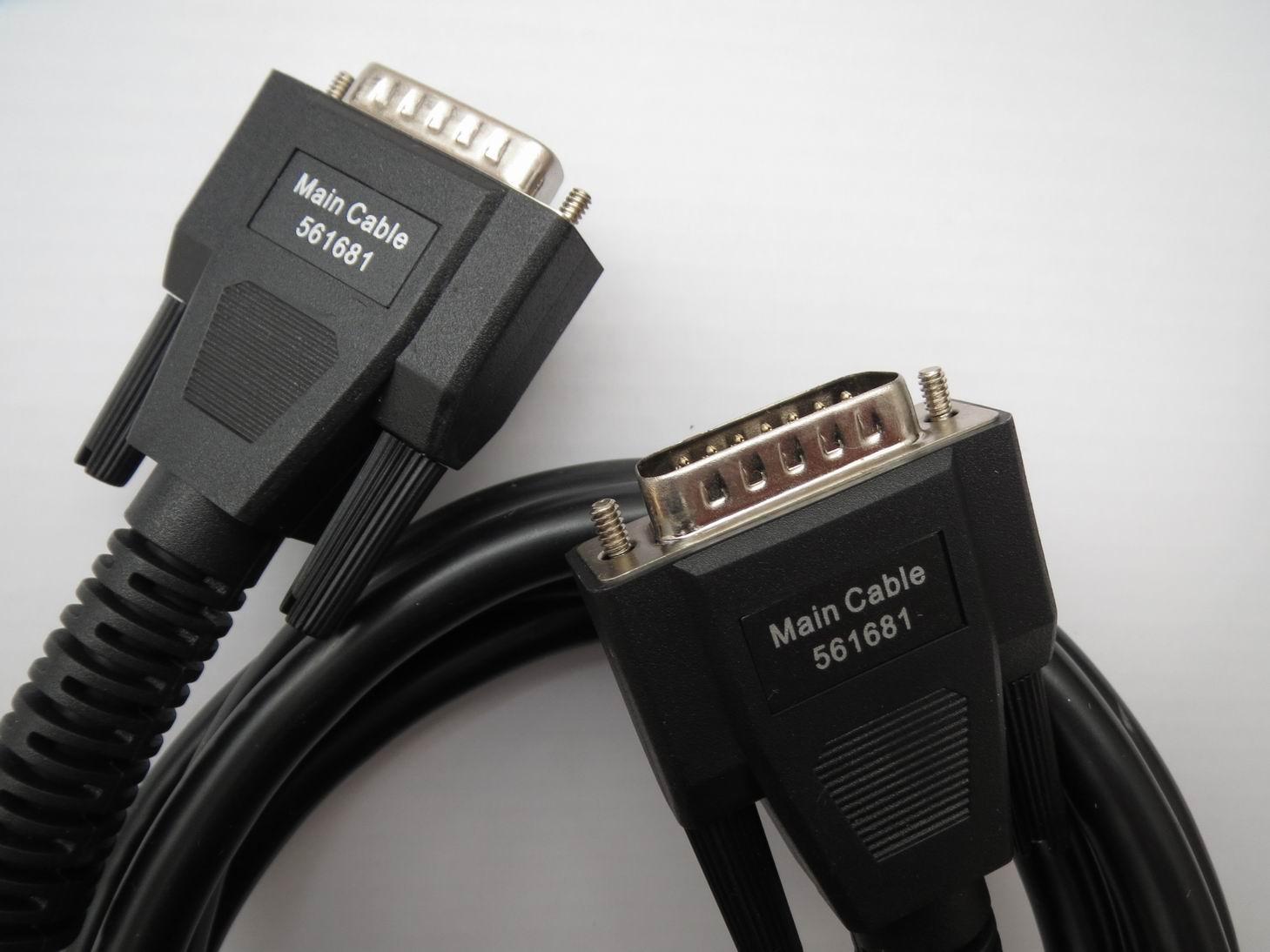 100% Original V30 DK80 2600+ 2700 2800 Main Cable for AutoBoss V30 Test Cables OBD-II Auto Scanner OBD2 Cable Obd 2 561681
