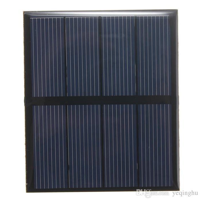 Hot Sale! 2V 0.6W Mini Solar Cell Polycrystalline Epoxy Solar Panel DIY Solar Module Education Kits 10PCS/Lot Free Shipping