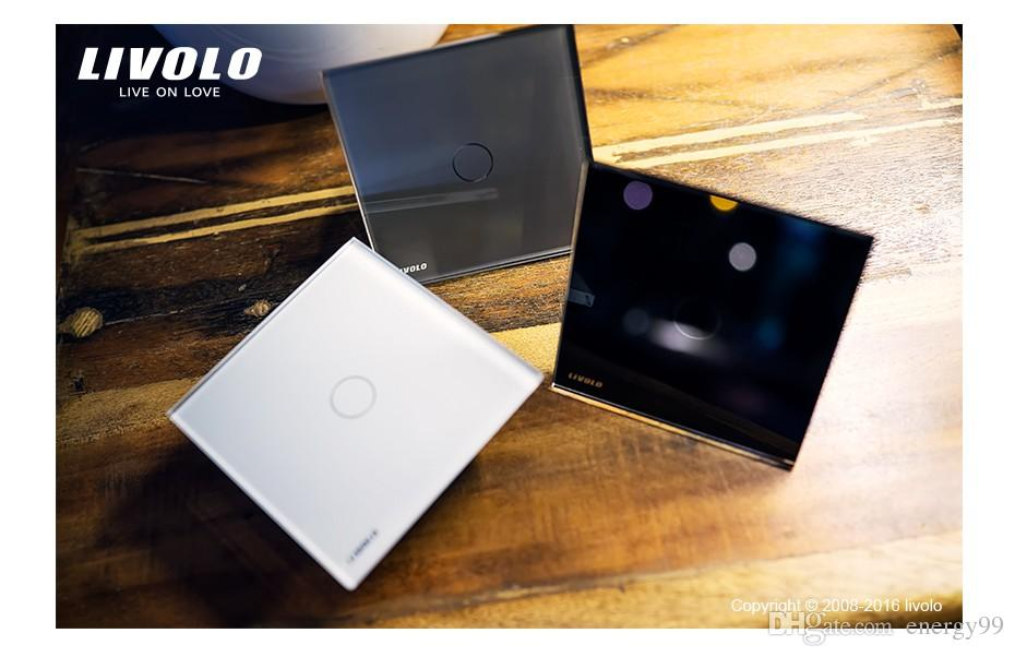 Livolo EU Standard Dimmer Switch, Wall Switch, Crystal Glass Panel ...