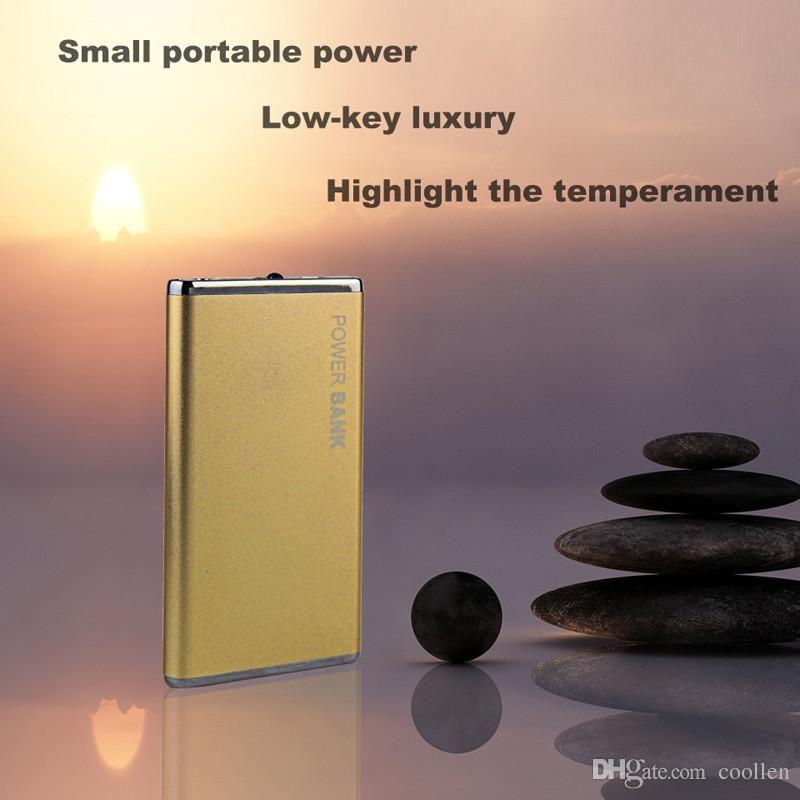 DOSHIN New Power Bank 5600mAh Portable Metal Case Li-Polymer External Battery Charger Powerbank All Phone