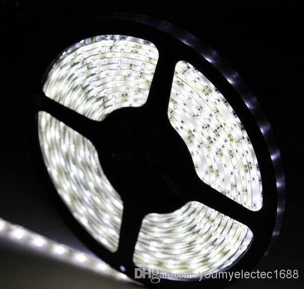 1000 Meter rot Bule gelb grün weiß warme LED-Streifen-Licht 5M Supler helle 3528 SMD keine wasserdichte flexible 300 LED 12V DHL