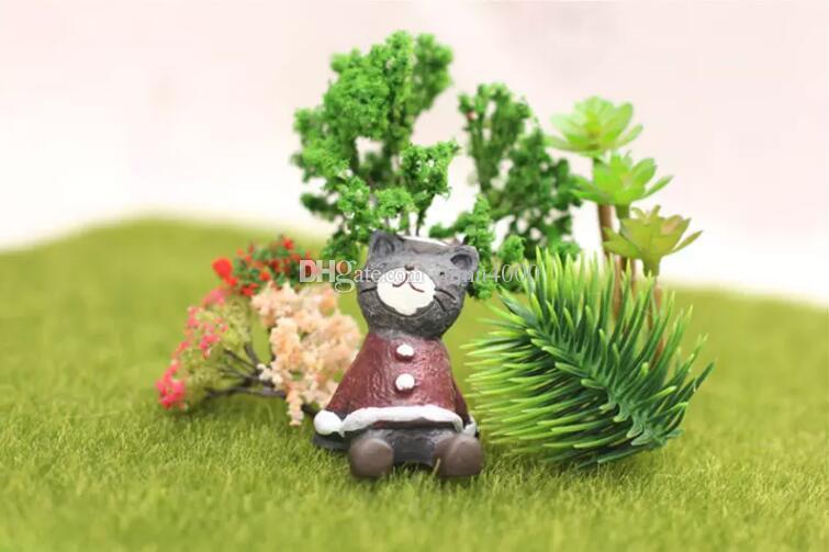erba artificiale prato 15 * 15cm fata giardino in miniatura gnome moss terrario arredamento resina artigianato bonsai home decor per fai da te Zakka