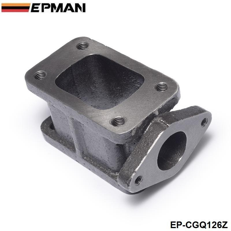 EPMAN - Adaptateur T3-T4 pour adaptateur de charge Turbo pour collecteur T3-T4 en fonte Wastegate T3 à T3 + 38mm EP-CGQ126Z