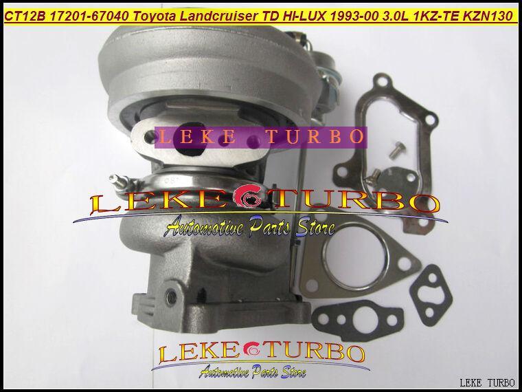 CT12B 17201-67010 17201-67040 TOYOTA LANDCRUISER 1KZ-TE 125HP HI-LUX KZN130 4 Runner 1993 3.0L D turbocharger (5)