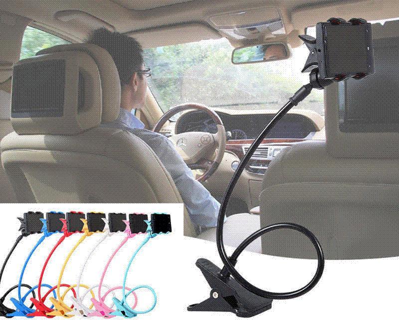 Universal Car Holder Stand Lazy Bed Desktop 360 Rotating Bed Tablet Mobile Phone Holder Selfie Mount for Iphone/Samsung UC0027