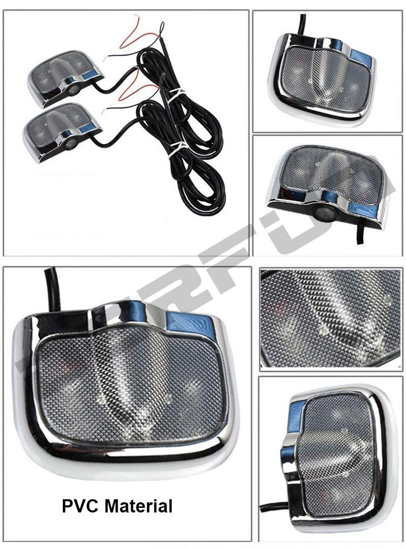 Car Light Decoration 2017 Pair Cheap No Drill Led Car Door Lights Lighting Auto