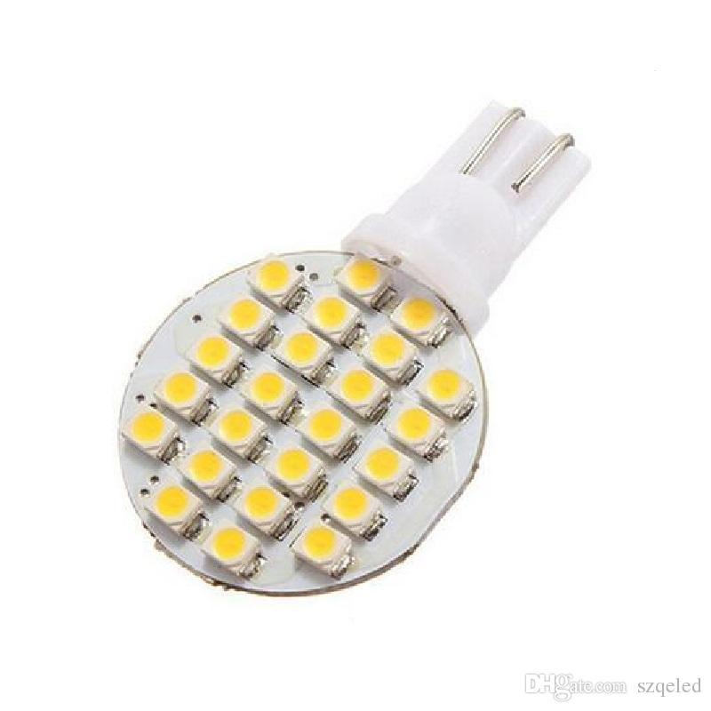 Клин T10 24 SMD LED 194 921 W5W 1210 147 168 192 RV свет лампы лампы белого оптовая цена