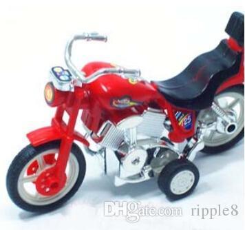 Имитация мотоцикла воина, крутые мотоциклы, покрашенные опционные задние игрушки
