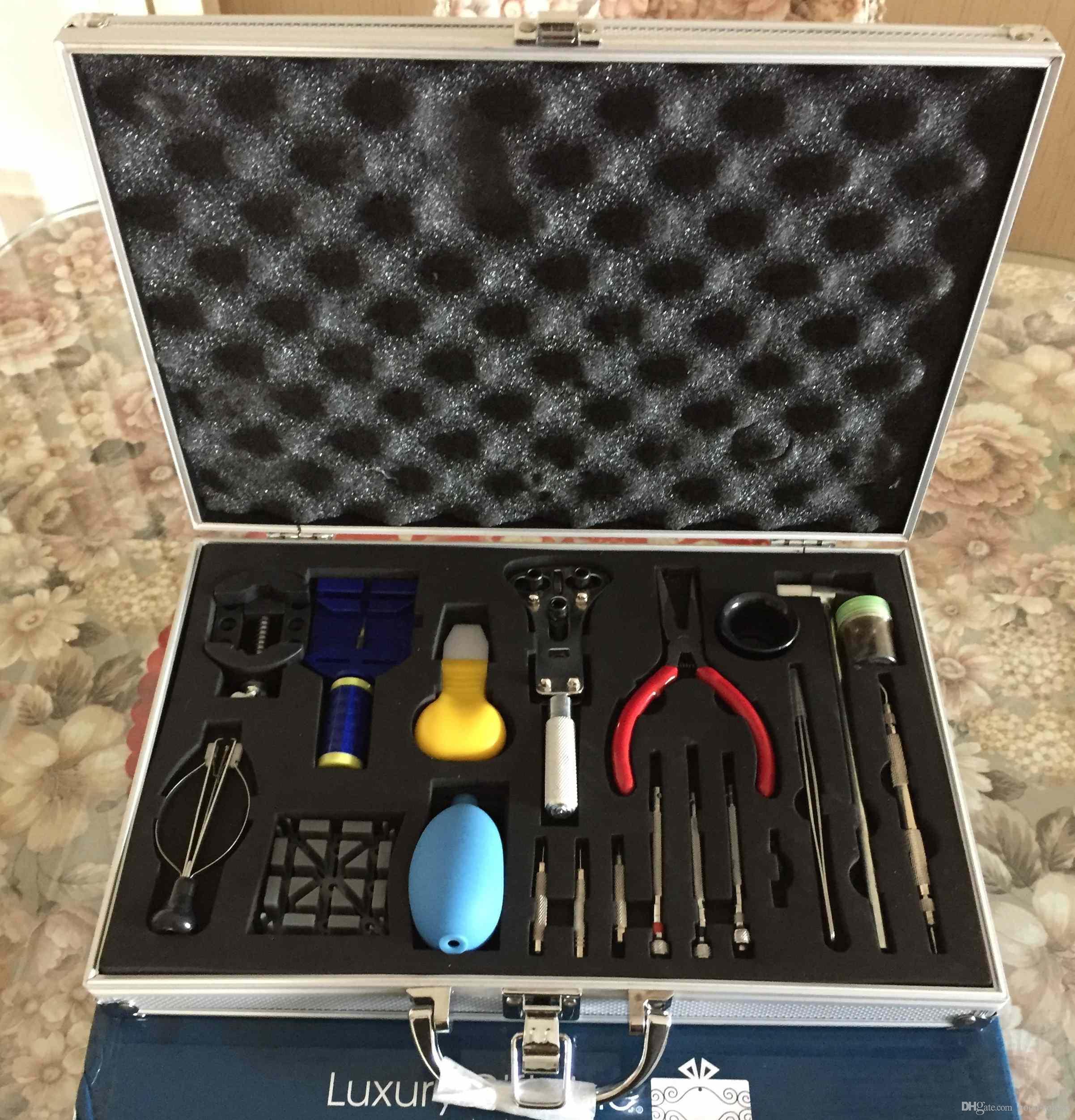 Saatçi İzle Onarım Aracı Takımı Kayış Bağlantı Temizleme Kiti Saatçi Araçları Kiti Yeni Case Arka Açıcı Remover Bahar Pin Bar