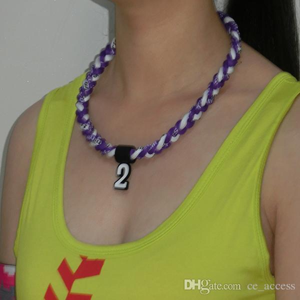 3 rep torso hälsa halsband sport halsband 28000 färg rep