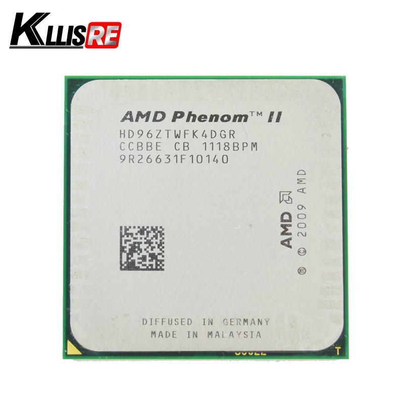 Phénomène ii 4 Processeur AMD quadrieur Cœur 960t 3,0 GHz Processeur AMD HD96ZTWFK4DGR AM3 95W