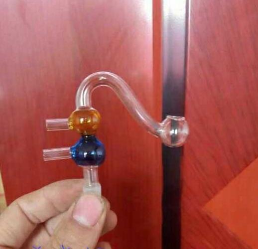 Vaso per il filtro secondario, accessori per narghilé all'ingrosso, Tubi di vetro Balaustra di vetro bong di vetro, bong di colore