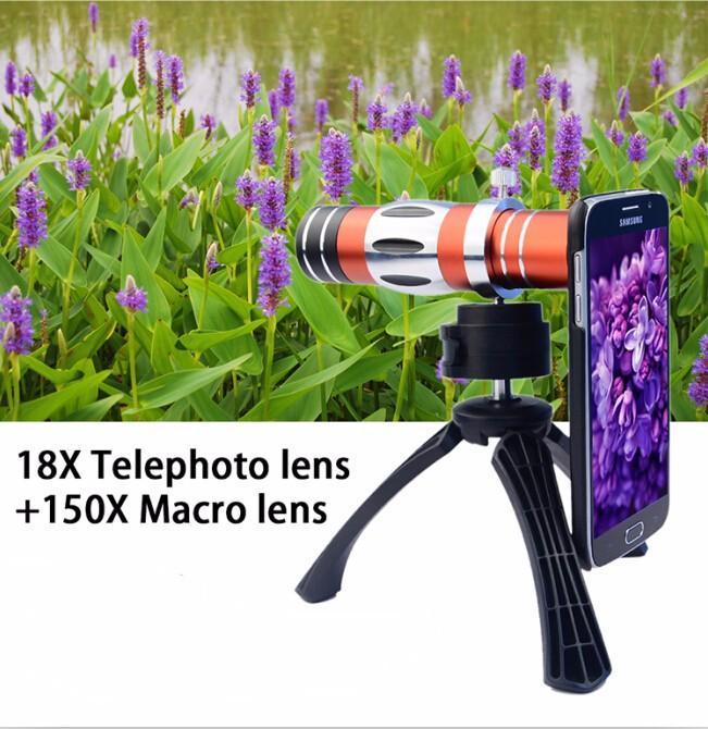 18x telephoto lens