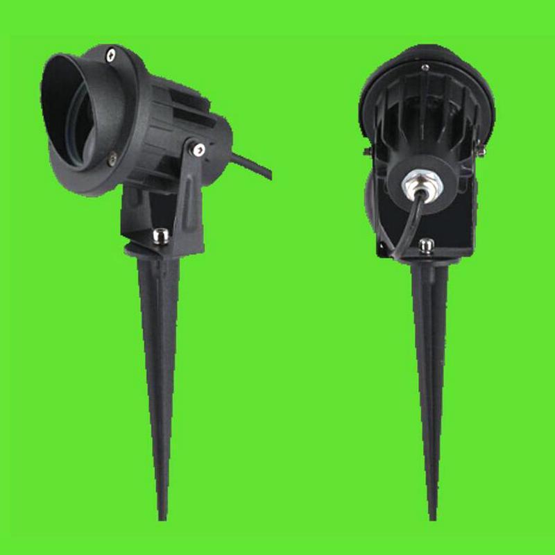 5W / 7W LED Eclairage jardin pelouse lampes sol lampes à LED avec support de base lumière extérieure d'inondation Décore étanche