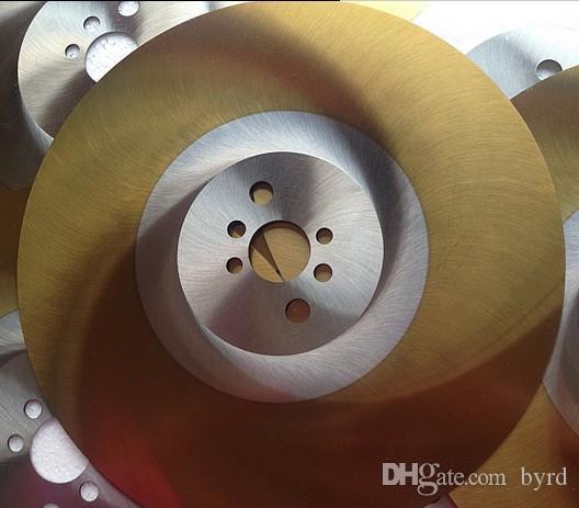 apol 9 polegadas 250 * 2.0 * 32 milímetros HSS-M42 de aço de alta velocidade da lâmina de serra circular para corte de aço inoxidável de aço inoxidável dourado lâmina de serra especial