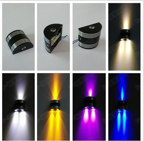 Led 벽 램프 현대 및 계약 유럽 형식 벽 램프 머리맡 램프 램프 조명 배경에 3 w 벽 조명