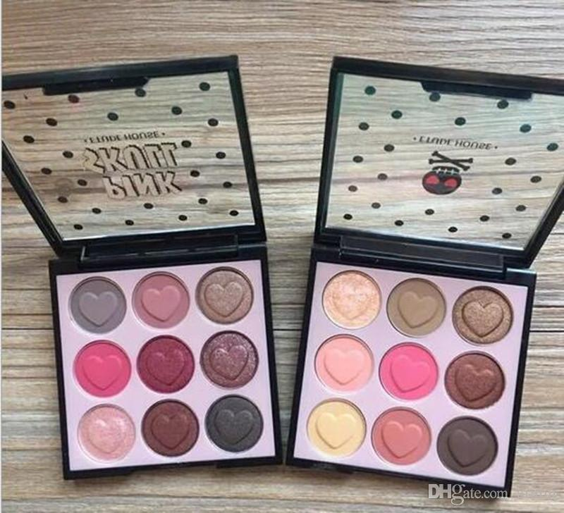 Nuove tavolozze di trucco Tablette Etude House Pink Skull Color Eyes EyeShadow Palette 9 Colore Eyeshadow Palettes DHL Spedizione gratuita