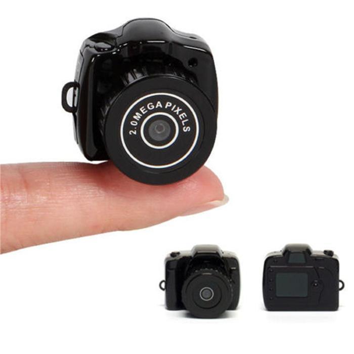Küçük Mini Dijital Dslr DV Video Kaydedici Kamera Web Kamera DVR Kamera Hd Mini Dv 1280x720 Y2000