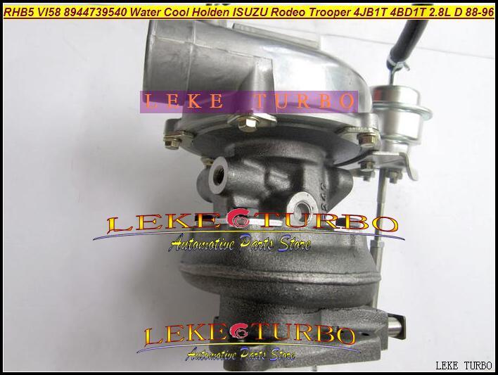 RHB5 VI58 8944739540 Water Cooled Turbine Turbo Turbocharger For ISUZU Trooper 4JB1T PIAZZA 4BD1T 2.8L D 1988-96 97HP (4)