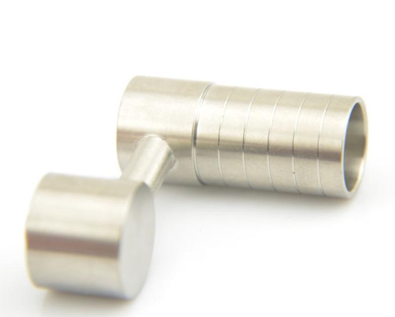 Clou en titane sans dame pour bidon d'huile pour ongles en titane universel de 14 mm et de 18 mm 2016 Nouveau clou en titane recyclable de haute qualité