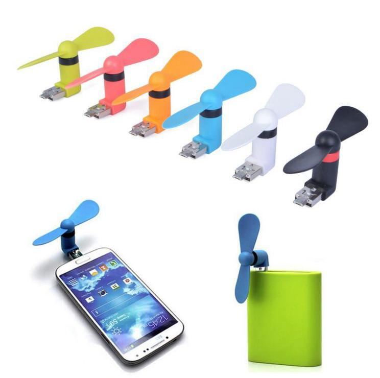 Portable Cell Phone Mini Fan Cooling Cooler For Phone Micro USB Android 0U