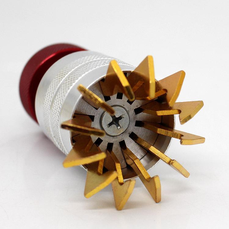 Strumento professionale per aprire resina / acrilico OCCHIALI Orologi da polso Misura regolabile Adatto 12-35mm Guarda gli strumenti di apertura