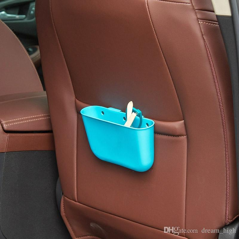 Creative Car Supplies Hanging Trash Cans Storage Box with a Small Trash