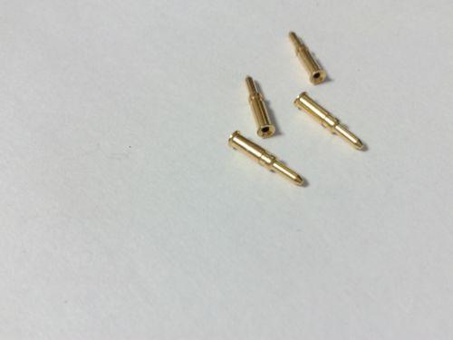 200PCS BNC Broche mâle pour adaptateur coaxial BNC RG59 Coaxial