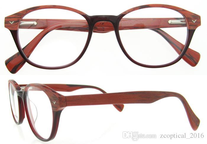 Vintage Eyeglasses Wooden Glasses Women And Men\'S Wooden Glasses ...
