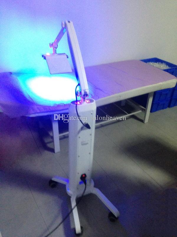 인기있는 PDT LED 라이트 테라피 기계 WTH 7 색 LED 라이트 테라피 PDT LED 얼굴 살롱 미용 기계 바닥 서 이동식