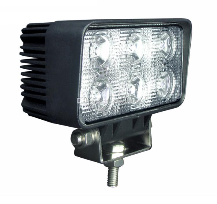 "10pcs 4.5 ""pollici 18W LED lavoro Light Bar lampada per moto trattore barca Off Road 4WD 4x4 camion SUV ATV Spot Flood 12 v 24 v"
