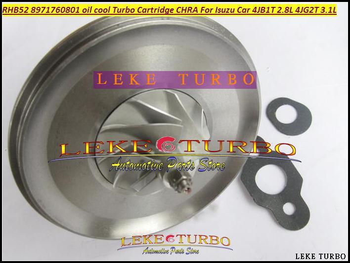 Óleo refrigerado Turbocharger Turbocharger Para ISUZU MIKADO Pickup 4JB1T 2.8L 4JG2T 3.1L Turbocharger Chra Núcleo Chra RHB5 VA190013 VICB 8971760801
