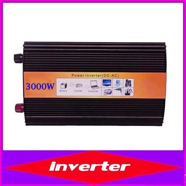 zuivere sinus converter 3000W 피크 6000W 순수 사인파 인버터 12 / 24 / 48V ~ 120 / 230VAC 전력 인버터