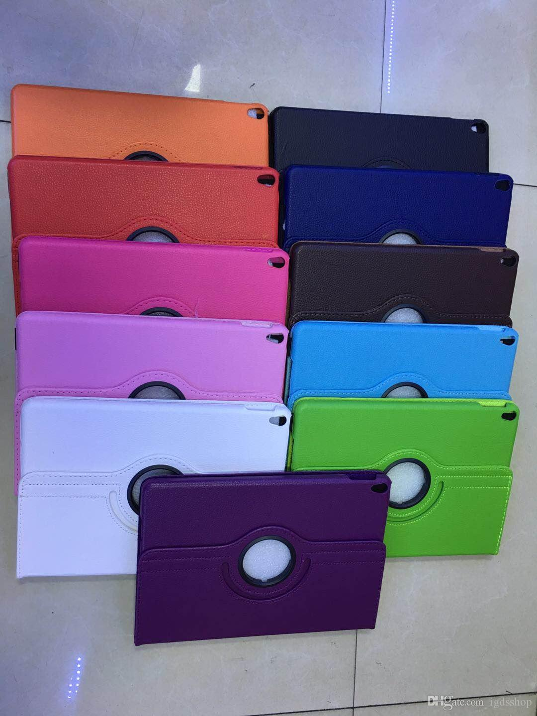 360 Rotating leather case Smart cover For iPad pro 12.9 inch 9.7 air3 air 2 3 4 5 6 7 Mini 4 Rotary Stand