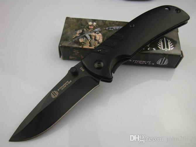Strider B42 B43 Small MINi Little Tine Folding Pocket OEM EDC Jackknife knife Wholesale Camping Hunting Home tools Outdoor GifFree
